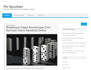 pinnycohen.com screenshot