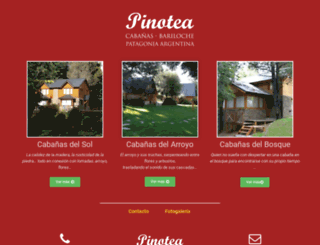 pinoteabariloche.com.ar screenshot