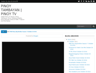 pinoy-ako-tv.com screenshot