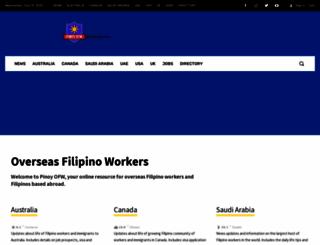 pinoy-ofw.com screenshot