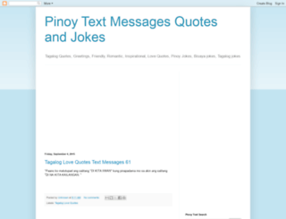 pinoy-text.blogspot.com screenshot