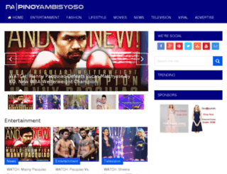 pinoyambisyoso.com screenshot