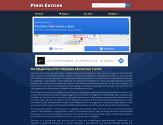 pinoyedition.com screenshot