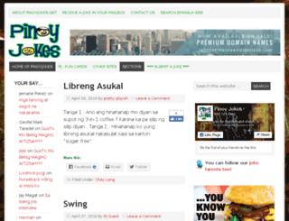 pinoyjokes.net screenshot