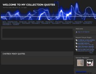 pinoyqoutes.webs.com screenshot