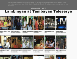 pinoytambayantv.se screenshot