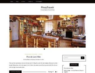 pinoytravelr.com screenshot