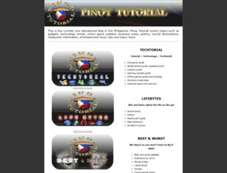 pinoytutorial.com screenshot