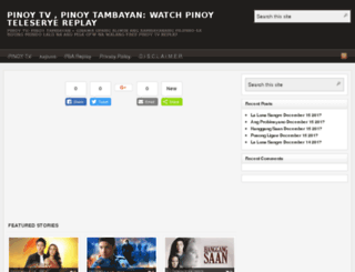 pinoytv-shows.org screenshot