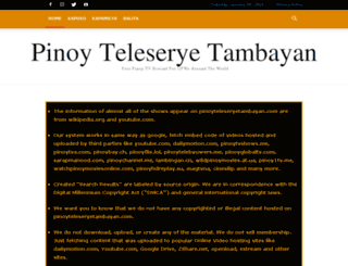 pinoytvrewind.com screenshot