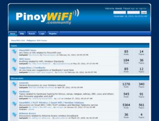pinoywifi.com screenshot