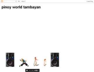 pinoyworldtambayan.com screenshot