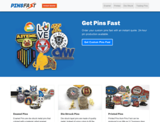 pinsfast.com screenshot