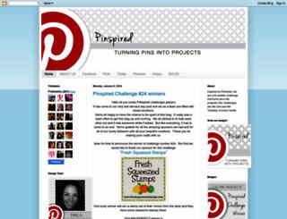 pinspiredchallenges.blogspot.com screenshot