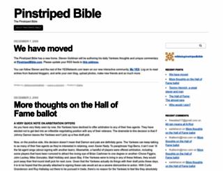 pinstripedbible.mlblogs.com screenshot