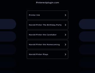 pinterestplugin.com screenshot