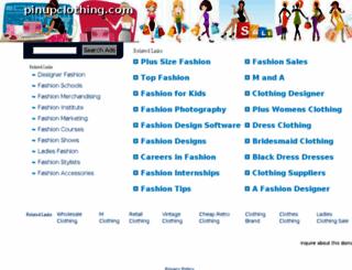 pinupclothing.com screenshot
