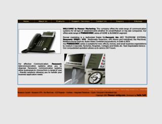 pioneer-mktg.com screenshot