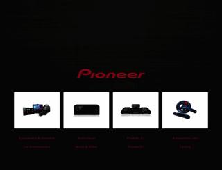 pioneer.be screenshot