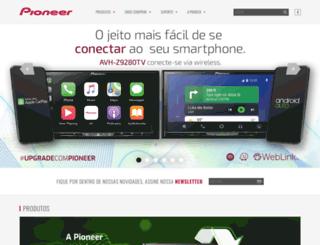 pioneer.com.br screenshot