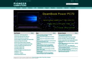 pioneercomputers.com.au screenshot