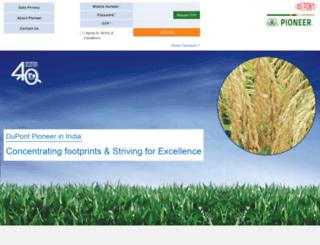 pioneerparivaar.com screenshot