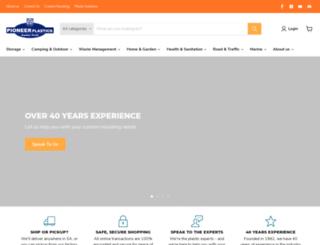 pioneerplastics.co.za screenshot