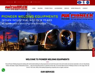 pioneerwelding.net screenshot