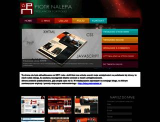 piotrnalepa.pl screenshot