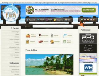 pipaonline.com.br screenshot