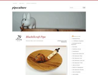 pipeculture.wordpress.com screenshot