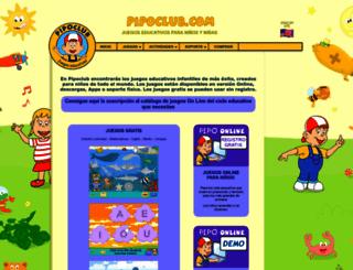 pipoclub.com screenshot