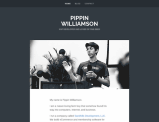 pippinspages.com screenshot