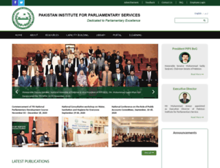 pips.gov.pk screenshot