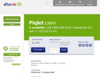 piqlet.com screenshot