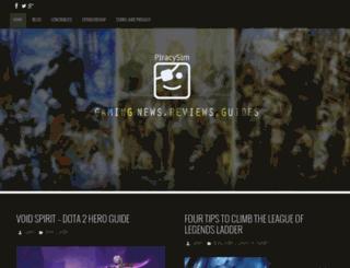 piracysim.com screenshot