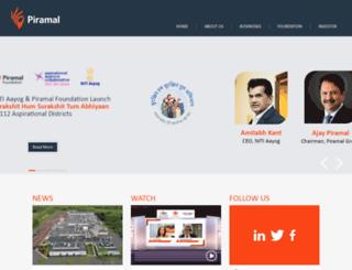 piramalhealthcare.com screenshot