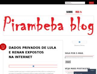 pirambebablog.wordpress.com screenshot