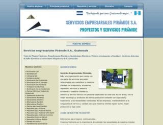 piramidegua.com screenshot