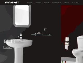 piramitseramik.com.tr screenshot