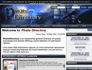 piratedirectory.co.uk screenshot