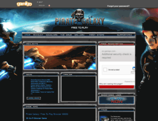 pirategalaxy.gamigo.com screenshot