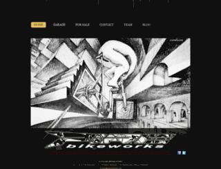 pirebikeworks.com screenshot