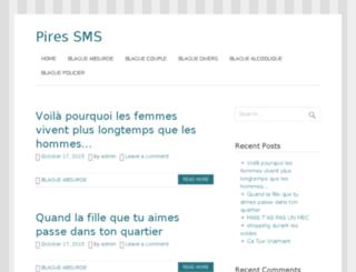 pires-sms.com screenshot