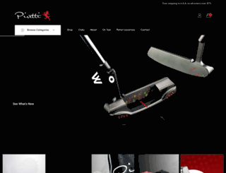 pirettigolf.com screenshot