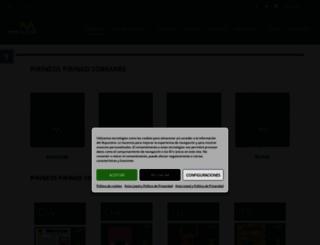 pirineos.com screenshot