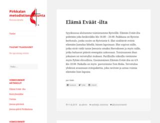 pirkkalankotiseurakunta.fi screenshot