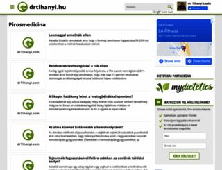 pirosmedicina.drtihanyi.hu screenshot