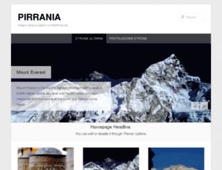 pirrania.wsb.poznan.pl screenshot