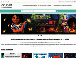 piruchita.com screenshot